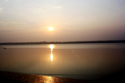 Sunset at Taki